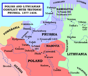 Polish and Lithuanian Conflict with Prussia. 1377-1435.
