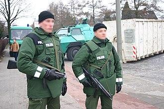Schutzpolizei - Officers of the Schutzpolizei