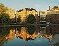 Pond in Kaisaniemi Park - Marit Henriksson.jpg