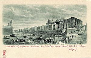 Angers Bridge - Collapsed Basse-Chaîne Bridge