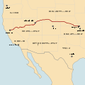 Pony Express Route.svg