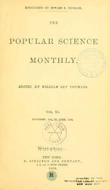 Popular Science Monthly Volume 40.djvu