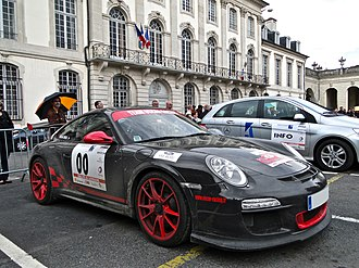 Homologation (motorsport) - Porsche GT3 RS.