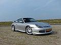 Porsche GT3 at Maasvlakt Beach (9293423337).jpg