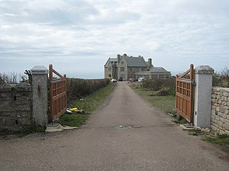 Cape Cornwall Mine - Porthledden House