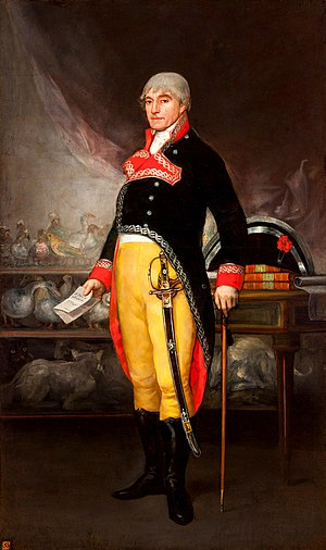 Félix de Azara - Félix de Azara by Francisco Goya.