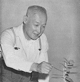 Portrait of Late Mr. Takenoshin Nakai (in Kagoshima, July 1952).jpg