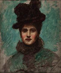 Portrait of a Lady (Elizabeth Boott Duveneck)