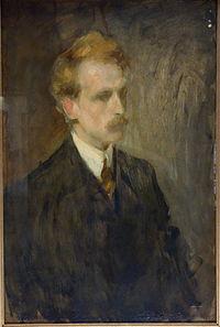 Portrait of the Artist Henry by Hara Busho (1866-1912), 1907, oil on canvas - Tokyo National Museum - DSC05563.JPG