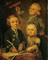 Portrait of the Children of Barend Goudriaan
