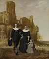 Portret van een echtpaar met een kind in een landschap Rijksmuseum SK-C-111.jpeg