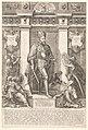 Portret van keizer Maximiliaan II Portretten van leden van het Oostenrijkse Huis (serietitel) Austriacae gentis imaginum (serietitel), RP-P-1961-813.jpg