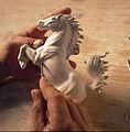 Porzellanmanufaktur Ludwigsburg Pferd bosieren.jpg
