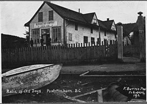 Lax Kw'alaams - Old Hudson's Bay Co. trading post, early 1900s