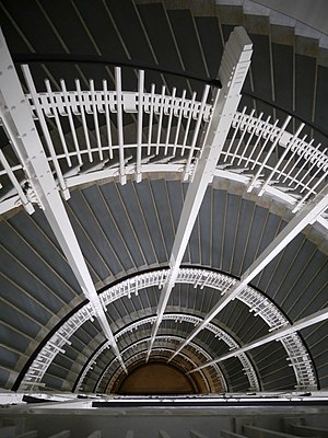Austrian Postal Savings Bank - Stairwell