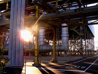 Cogeneration - A cogeneration thermal power plant in Ferrera Erbognone (PV), Italy