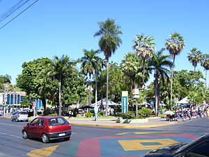 Cuiabá - Ipiranga Square.
