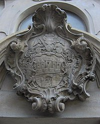 Prague Lesser Quarter - coat of arms (belfry).jpg