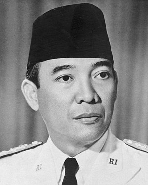 Sunda Straits Crisis - President Sukarno of Indonesia was a driving force behind Konfrontasi.
