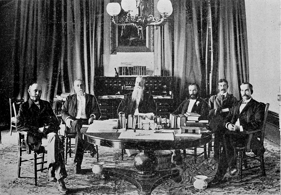 President Dole and his Cabinet