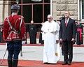 President Rumen Radev Welcomes His Holiness Pope Francis in Bulgaria, 2019-05-05 05.jpg
