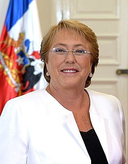 File photo of Michelle Bachelet, 2015.  Image: Gobierno de Chile.