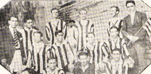 Gimnasia y Esgrima de Mendoza - The first football team of the club.