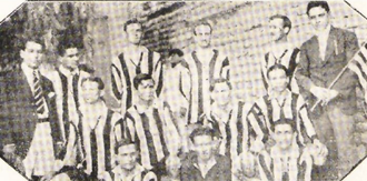Gimnasia y Esgrima de Mendoza - The first football team of the club.