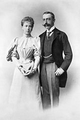 Princess Alexandra of Saxe-Coburg-Gotha and Prince Ernest of Hohenlohe-Langenburg.jpg