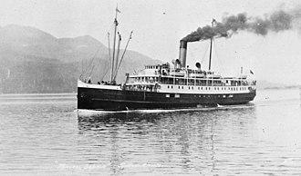 Bow, McLachlan and Company - Image: Princess Sophia (steamship) (ca 1912)