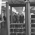 Prins Bernhard opende computerfabriek N.V. Electrologica te Rijswijk, de Prins t, Bestanddeelnr 917-1780.jpg
