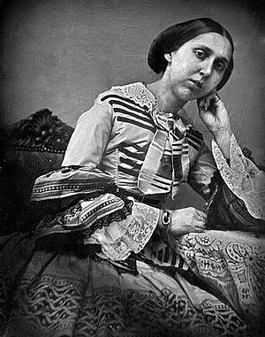 Princess Eugénie of Sweden and Norway - Daguerreotype photo