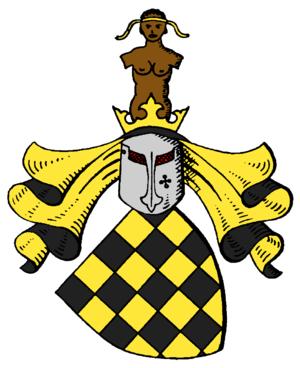 Moritz Karl Ernst von Prittwitz - The Arms of the von Prittwitz und Gaffron family