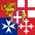 Proposta di bandiera di bompresso italiana 1943.PNG