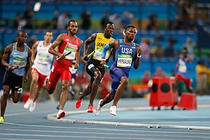 Athletics at the 2016 Summer Olympics – Men's 4 × 400 metres relay - Image: Provas de Atletismo nas Olimpíadas Rio 2016 (29004547352)