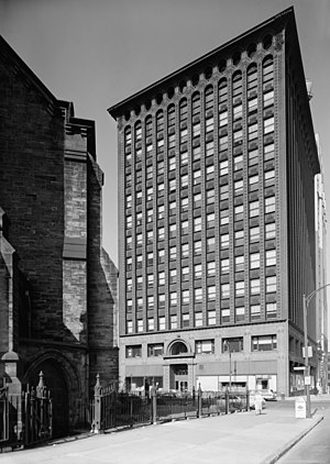 Louis Sullivan - Prudential Building, also known as the Guaranty Building, Buffalo, New York, 1894