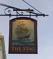 Public House Sign, Walmer, UK, The Stag.png