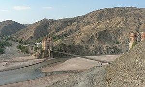 "Cornelio Saavedra Province - The bridge ""Puente Méndez"" or ""Puente Sucre"" between Sucre and Potosí across Pillku Mayu"