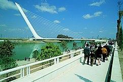 Puente del Alamillo, Sevilla.(1987-1992)