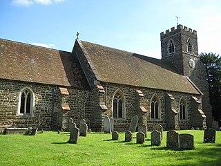 Pulloxhill farm village in the United Kingdom