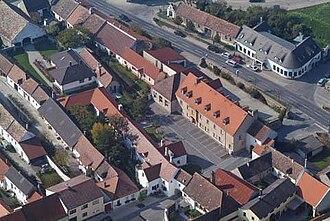 Purbach am Neusiedlersee - Aerial view