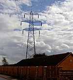 File:Pylon in your back garden. - geograph.org.uk - 524591.jpg