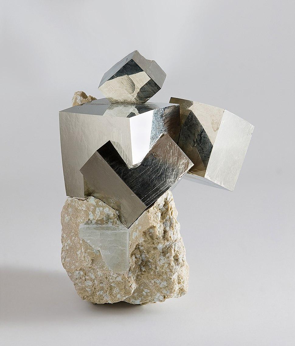 Pyrite from Ampliación a Victoria Mine, Navajún, La Rioja, Spain 2