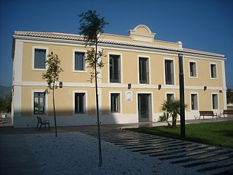 Carabineros - Former Carabineros headquarters at Xeraco, Valencia restored in 2011
