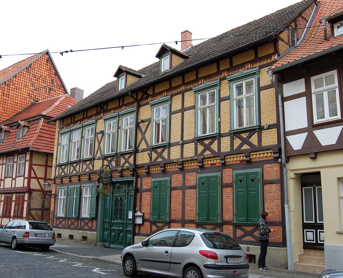Quedlinburg Brauerei Lüdde.JPG