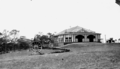 Queensland State Archives 1100 Kiosk and Gun at Picnic Point Main Range Toowoomba c 1931.png