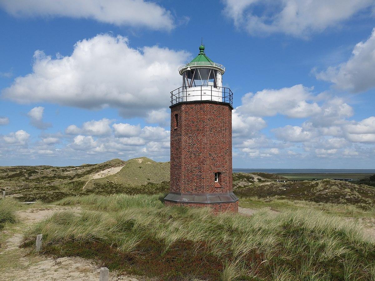 Rotes Kliff Lighthouse Wikipedia