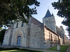 Quillebeuf-sur-Seine - Image: Quillebeuf église 2