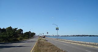 Quincy Shore Drive United States historic place