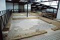 Quintanilla de la Cueza Villa romana Tejada Habitación 24 Mosaico de Leda 005.jpg
